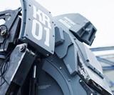 Kuratas Robot - Profile Closeup View