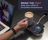 Nomodo Trio Qi-Certified Charger & Drink Warmer/Cooler