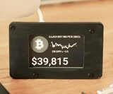 Real Time Cryptocurrency Price Ticker
