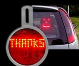Rear Window LED Messenger