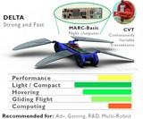 Robot Dragonfly - Delta Model