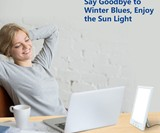 Tablet-Sized Light Therapy Lamp
