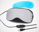 USB Heated & Ice Gel Cooling Eye Mask