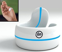 FIN - Numeric Keypad & Gesture Interface Ring