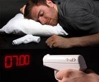 Secret Agent Projection Gun Alarm Clock
