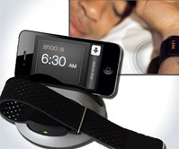 Silent Alarm Clock & Sleep Sensor