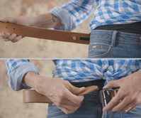 Triposo Vibrating Navigation Belt