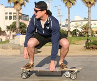 ZBoard - Weight-Sensing Skateboard