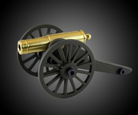 Fully Functional Palm-Size Cannon