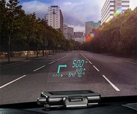 Garmin Head-Up Navigation Display