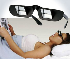 Prism Glasses for Reading in Bed