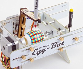 The Original Egg-Bot - CNC Art Robot Kit