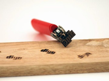 Branding Iron For BIC Lighter