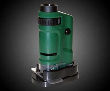 LED Lighted Pocket Microscope