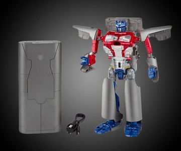 Optimus Prime Converting Power Bank