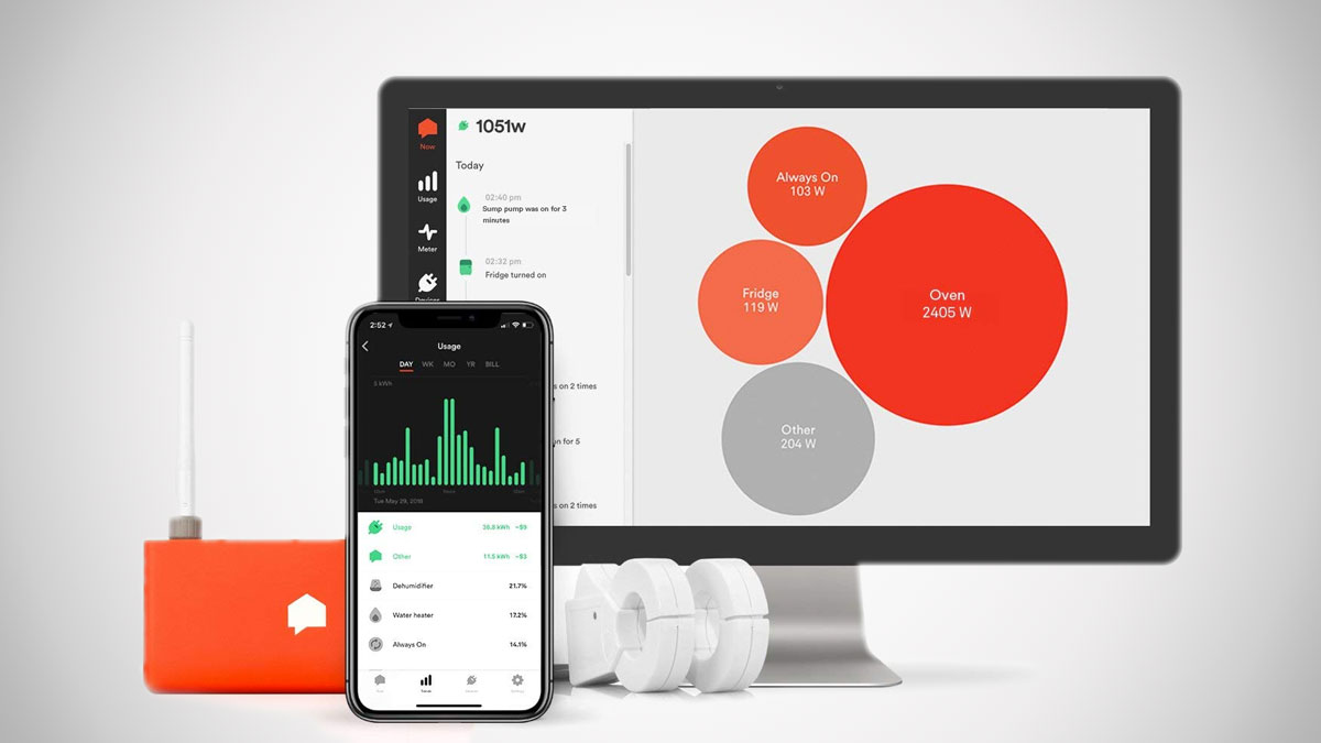 Sense Energy Monitor Track Energy Usage In Real Time