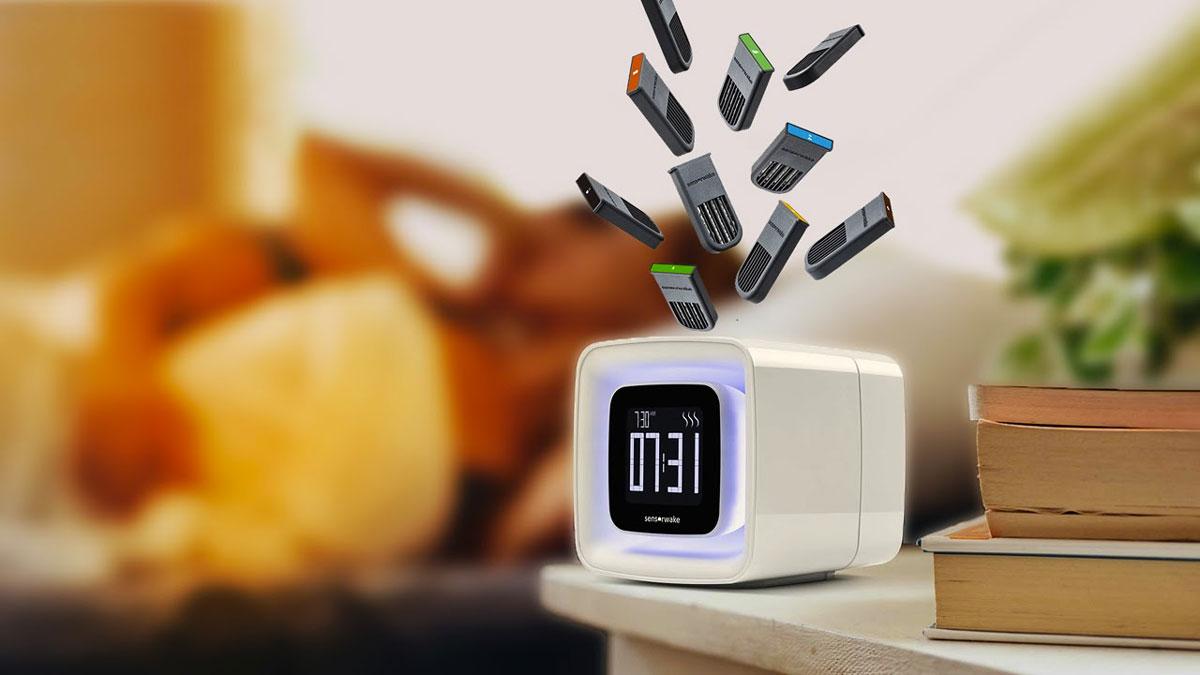 SensorWake Smell-Based Alarm Clock