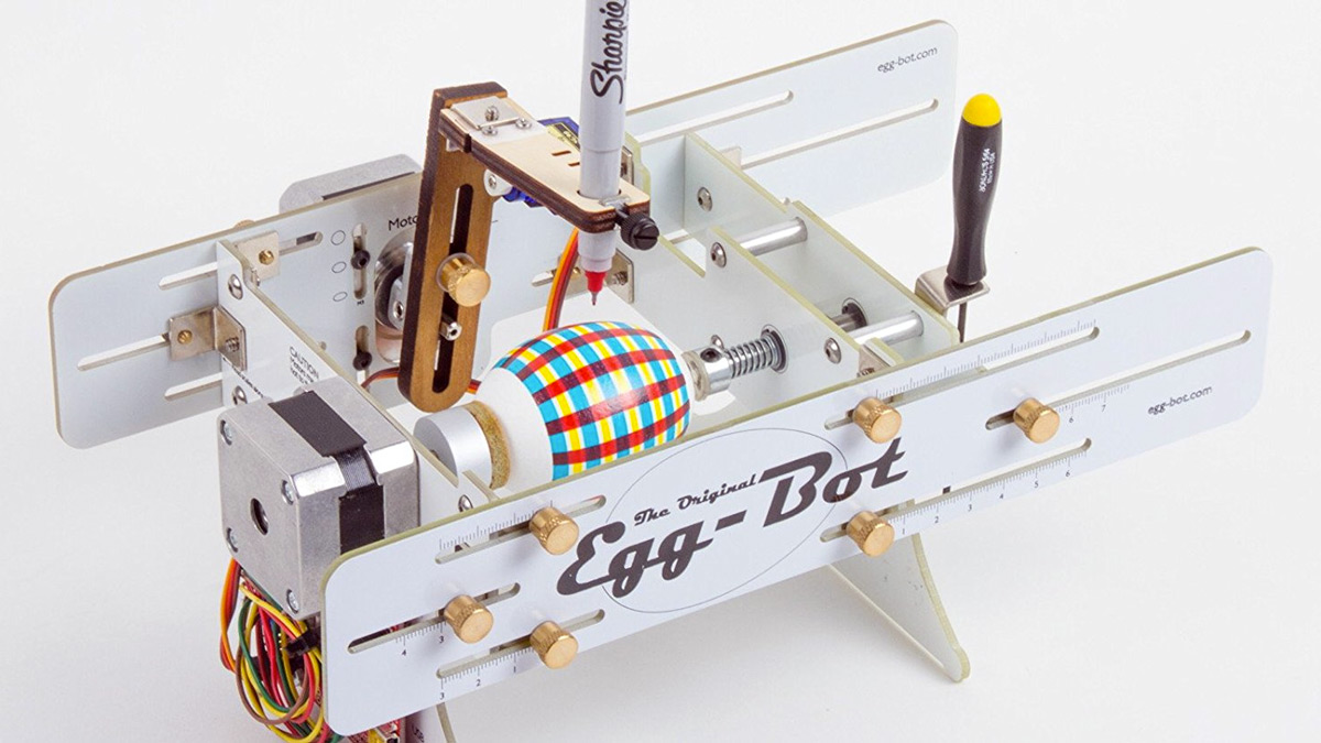 The Original Egg-Bot - CNC Art Robot Kit