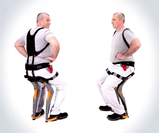 Wearable Chairless Chair Dudeiwantthat Com