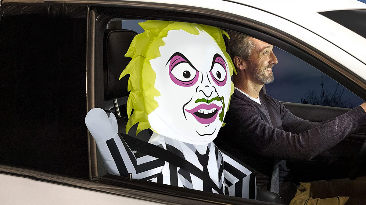 Beetlejuice Airblown Inflatable Car Buddy