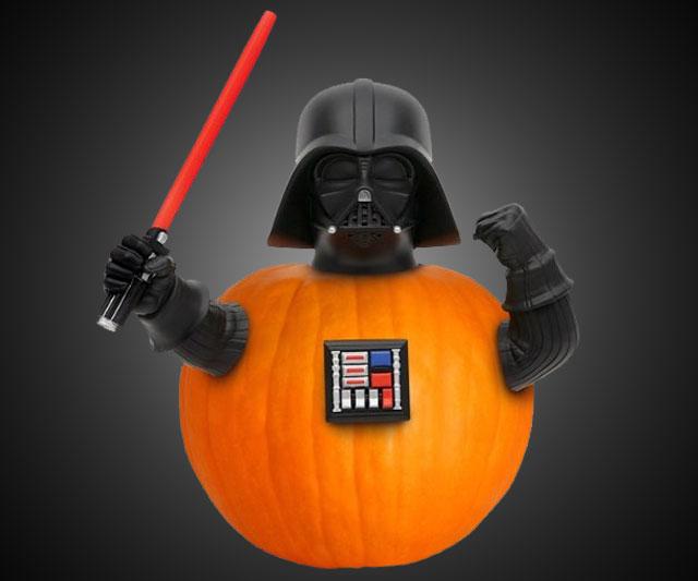 darth vader pumpkin push ins. Black Bedroom Furniture Sets. Home Design Ideas