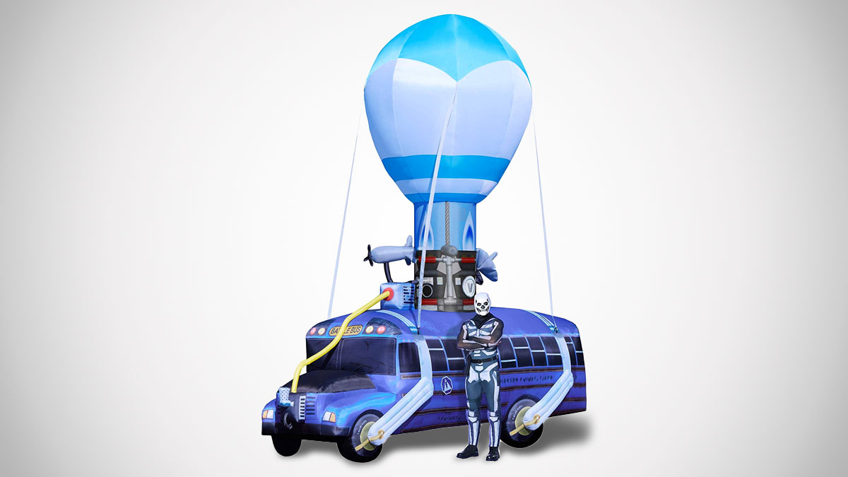 Fortnite 17.5 Ft Battle Bus Inflatable