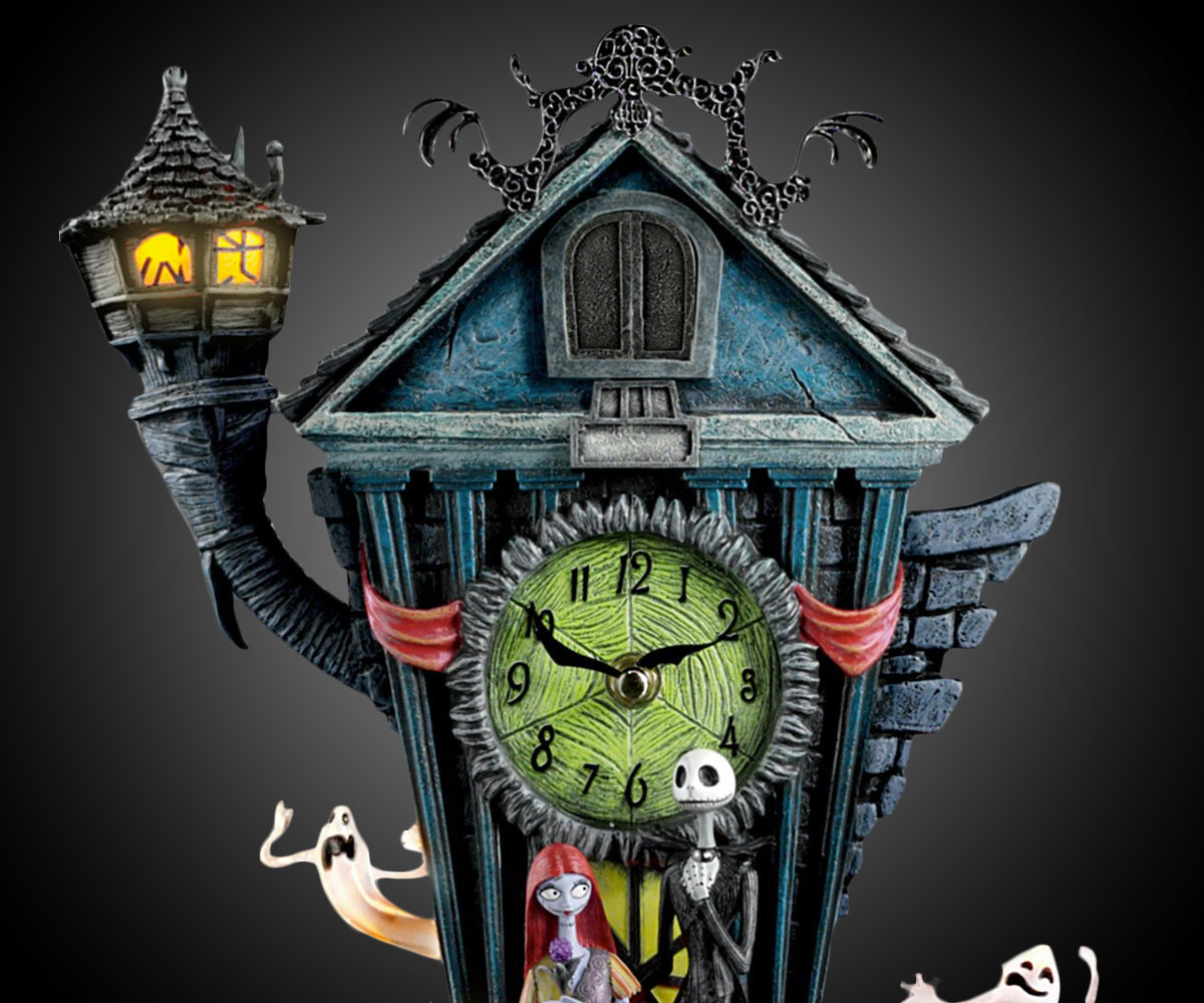 Nightmare Before Christmas Cuckoo Clock | DudeIWantThat.com
