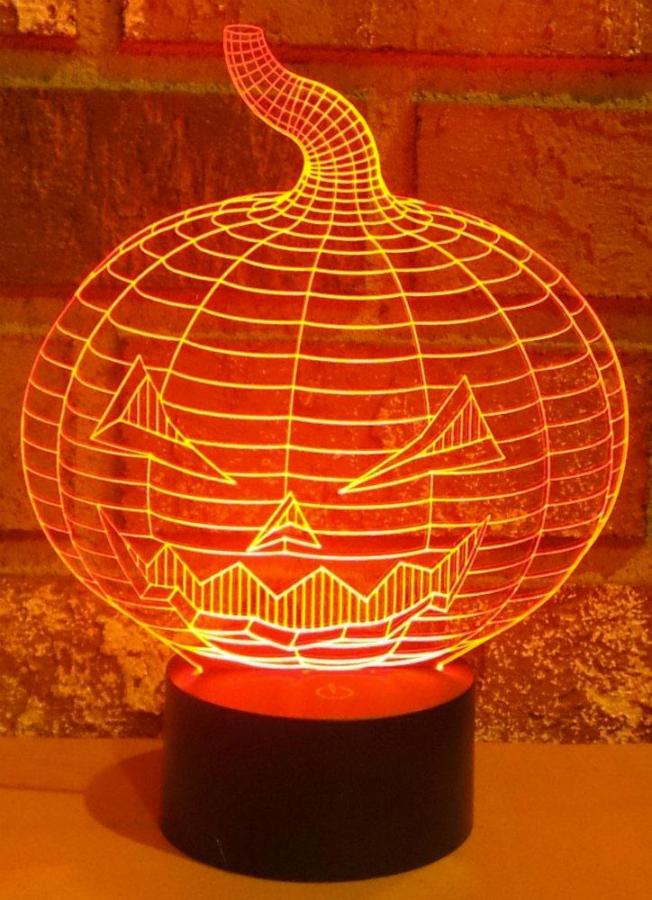 3d optical illusion skull light halloween skulls dudeiwantthat dirty lamp related