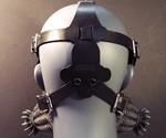 Defender Gas Mask - Back View