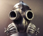 Defender Gas Mask - Front View
