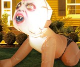 4' Inflatable Zombie Baby
