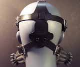 Defender Gas Mask - Back View