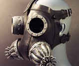 Defender Gas Mask - Side View