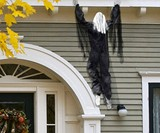 Life-Size Hanging Climbing Dead Zombie