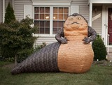 Life-Size Inflatable Jabba the Hutt