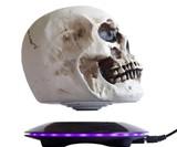 Magnetic Levitating 3D Skull Light