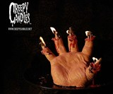 Melting Bloody Hand Candle