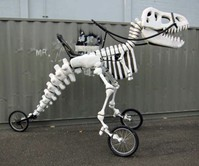 Giant Rideable T-Rex Bike
