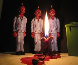 Melting Mandle Zombie Candle