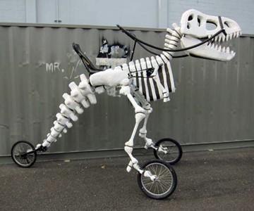 Giant Rideable T-Rex Bike  58a211d68d