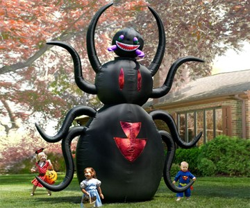 12 Foot Inflatable Animated Spider