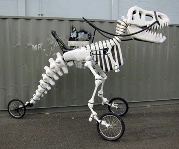 Giant Rideable T-Rex Bike