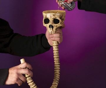 Skull & Spine Beer Bong