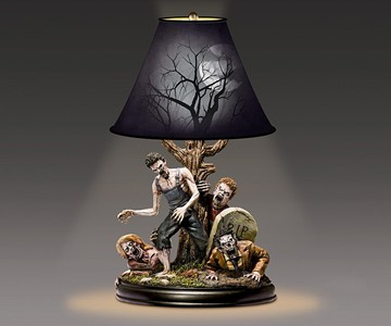 The Dead of Night Zombie Lamp