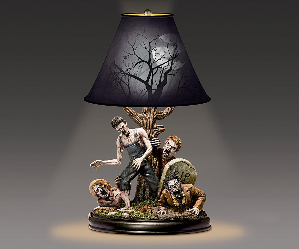 The Dead Of Night Zombie Lamp Dudeiwantthat Com