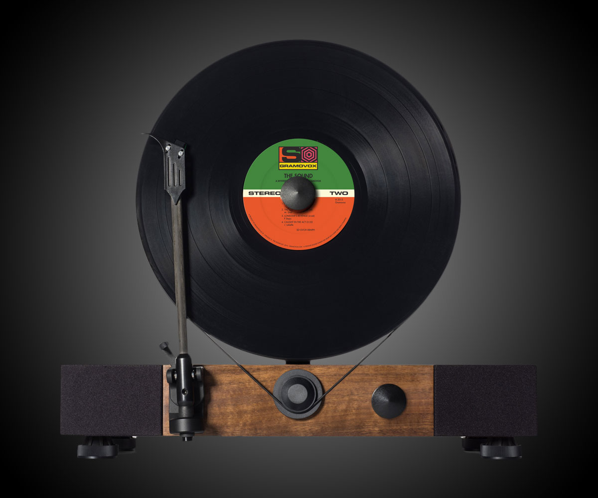 Floating Record Vertical Turntable Dudeiwantthat Com