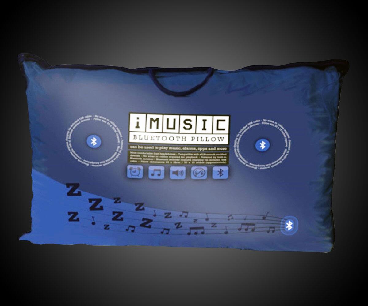 Imusic bluetooth pillow for Music speaker pillow