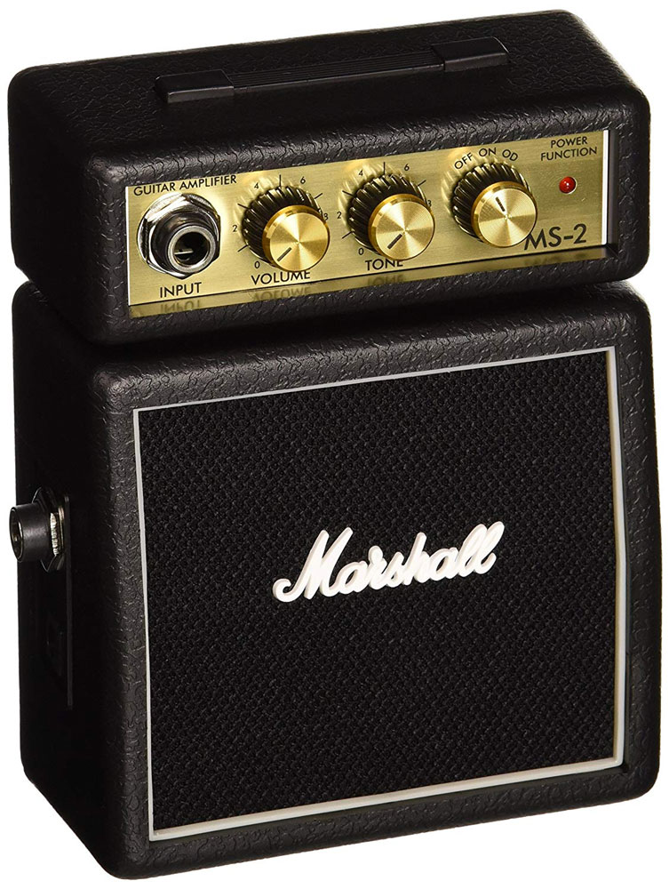 marshall ms2 battery powered micro guitar amplifier. Black Bedroom Furniture Sets. Home Design Ideas