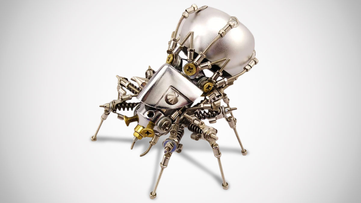 Mechanical Spider Portable Bluetooth Speaker