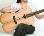 Female Form Guitar